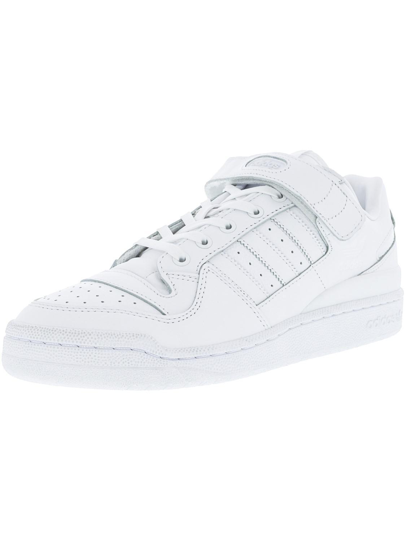 lyst adidas bianco / nero forum lo raffinata caviglia alta moda