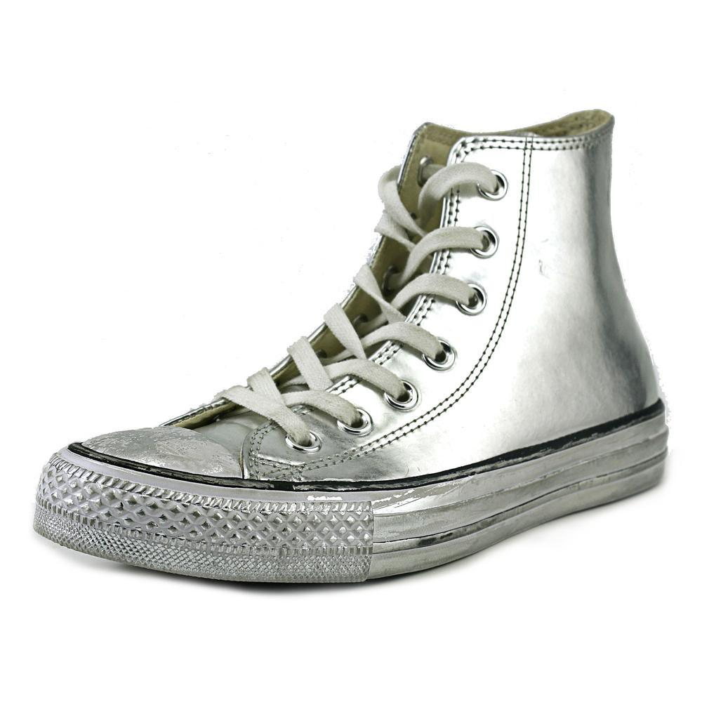 c5de7985fdd49e Lyst - Converse Chuck Taylor All Stars Hi Womens Shoes Chrome ...