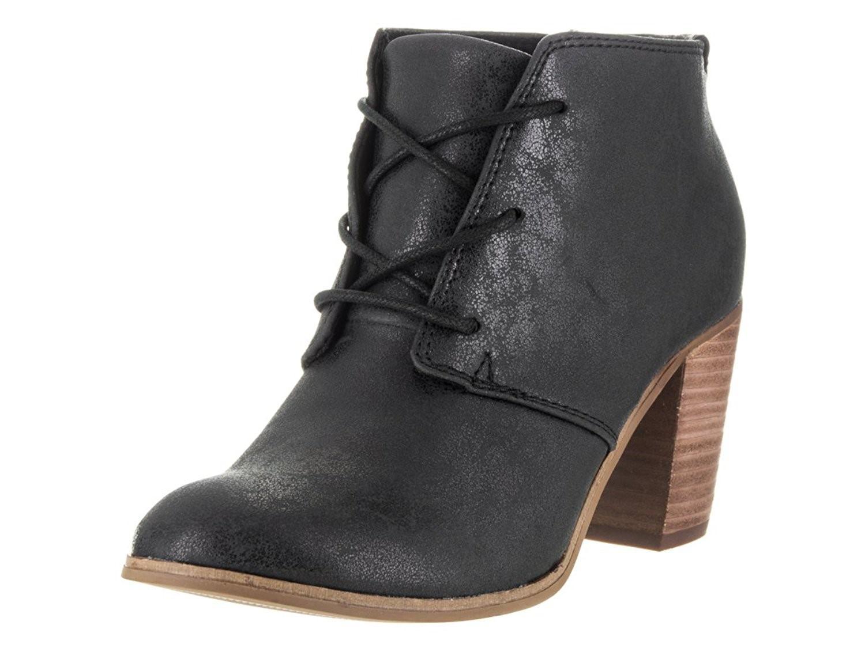 90b537e7241 Lyst - TOMS Lunata Lace-up Black Metallic Casual Shoe 9.5 Women Us ...