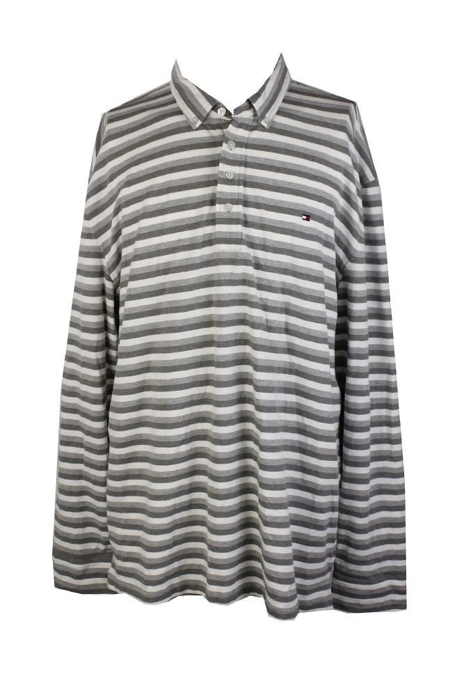 f2c22742cc Lyst - Tommy Hilfiger Vanderbilt Custom Fit Striped Polo Shirt in ...