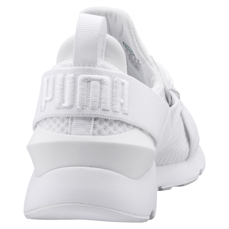 00938988435c28 PUMA - Muse En Pointe Shoes White- White 9 - Lyst. View fullscreen