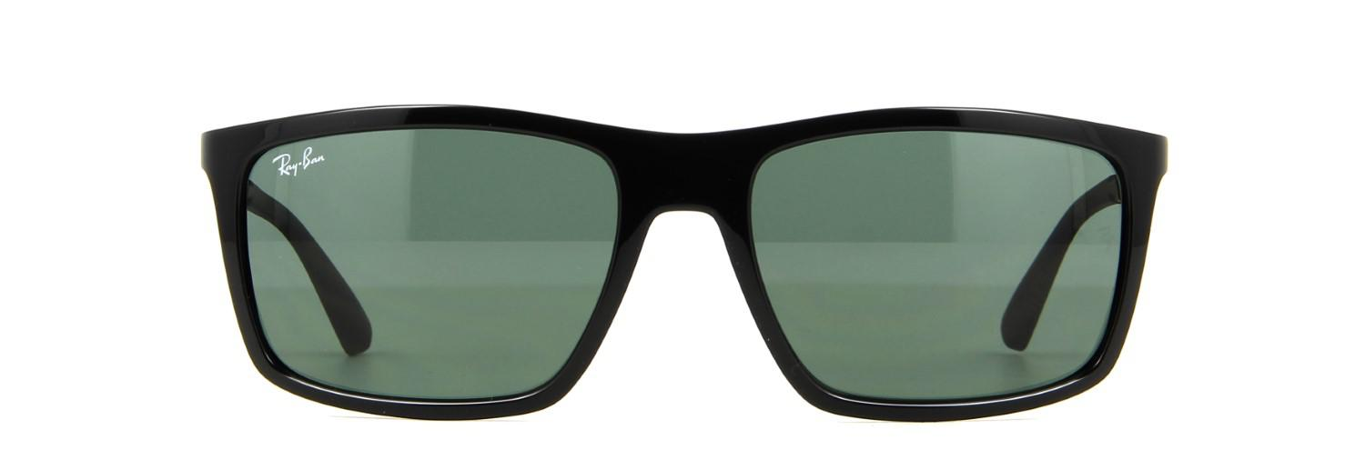 648a7dca07a Lyst - Ray-Ban 0rb4228 622771 58 Shiny Black dark Green Active ...