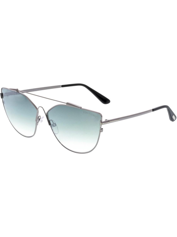 c9d0a07285aef Tom Ford. Women s Metallic Gradient Jacquelyn Ft0563-14x-64 Cat Eye  Sunglasses