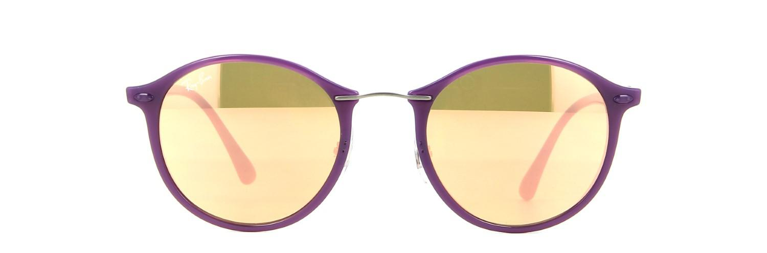 531fbaac2a Ray-Ban 0rb4242 60342y 49 Shiny Violet brown Mirror Pink Tech ...