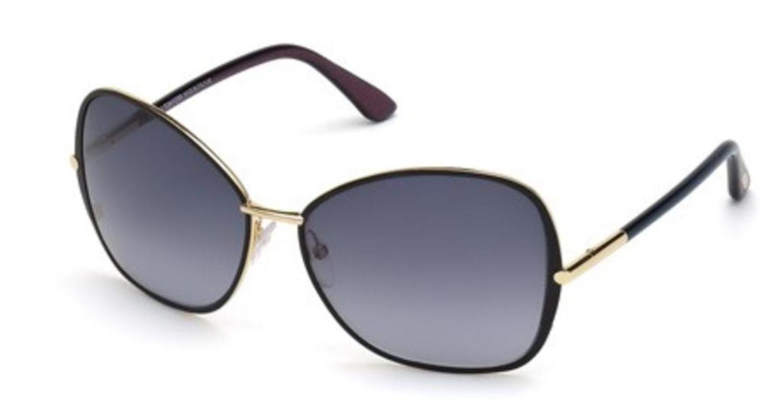 7073b81d97e65b Lyst - Tom Ford Sunglasses Tf 319 Ft 32b Gold   Gradient Smoke in ...