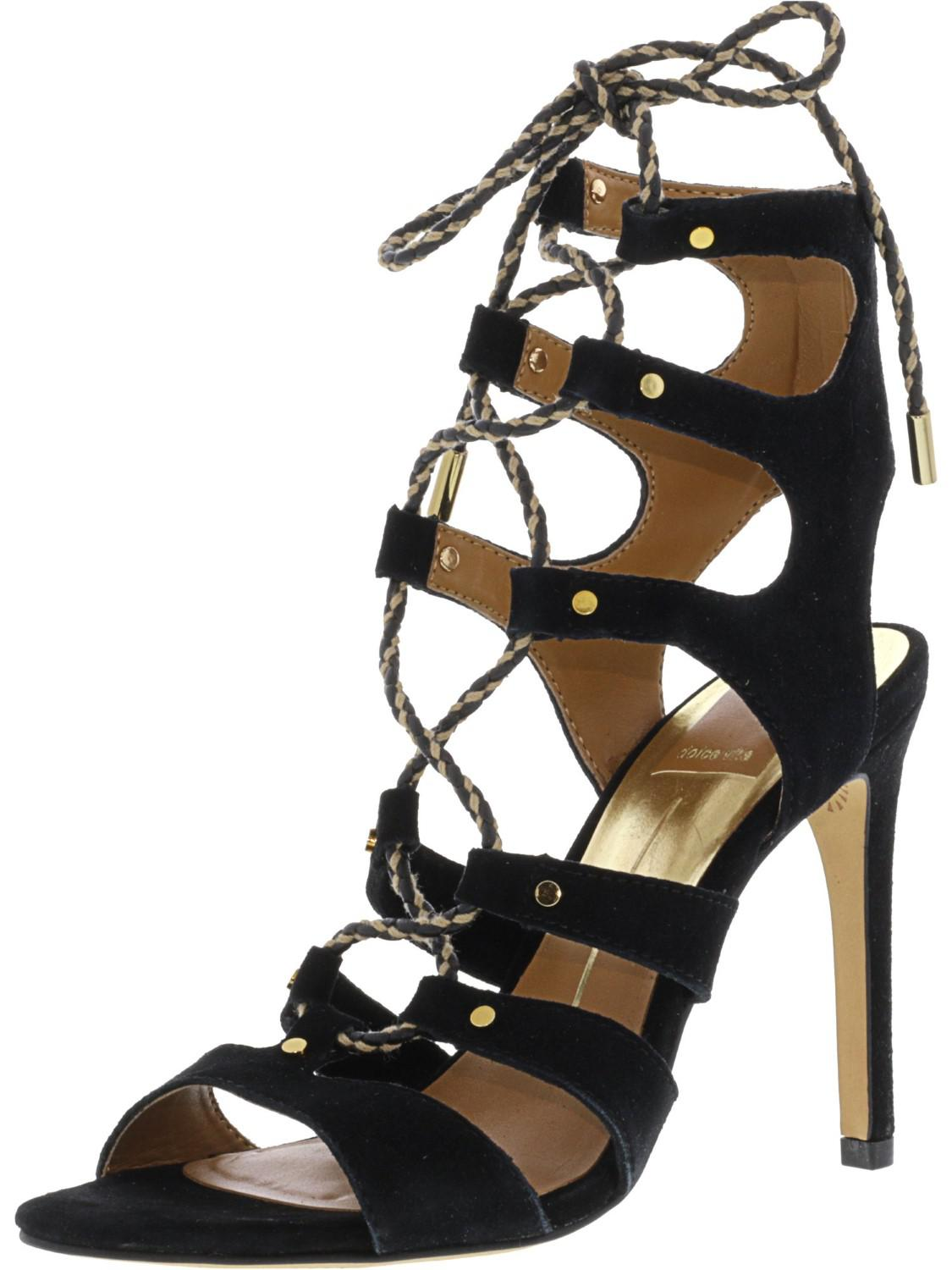 ab426d75f0a Lyst - Dolce Vita Howie Suede Ankle-high Pump - 7.5m in Black - Save ...