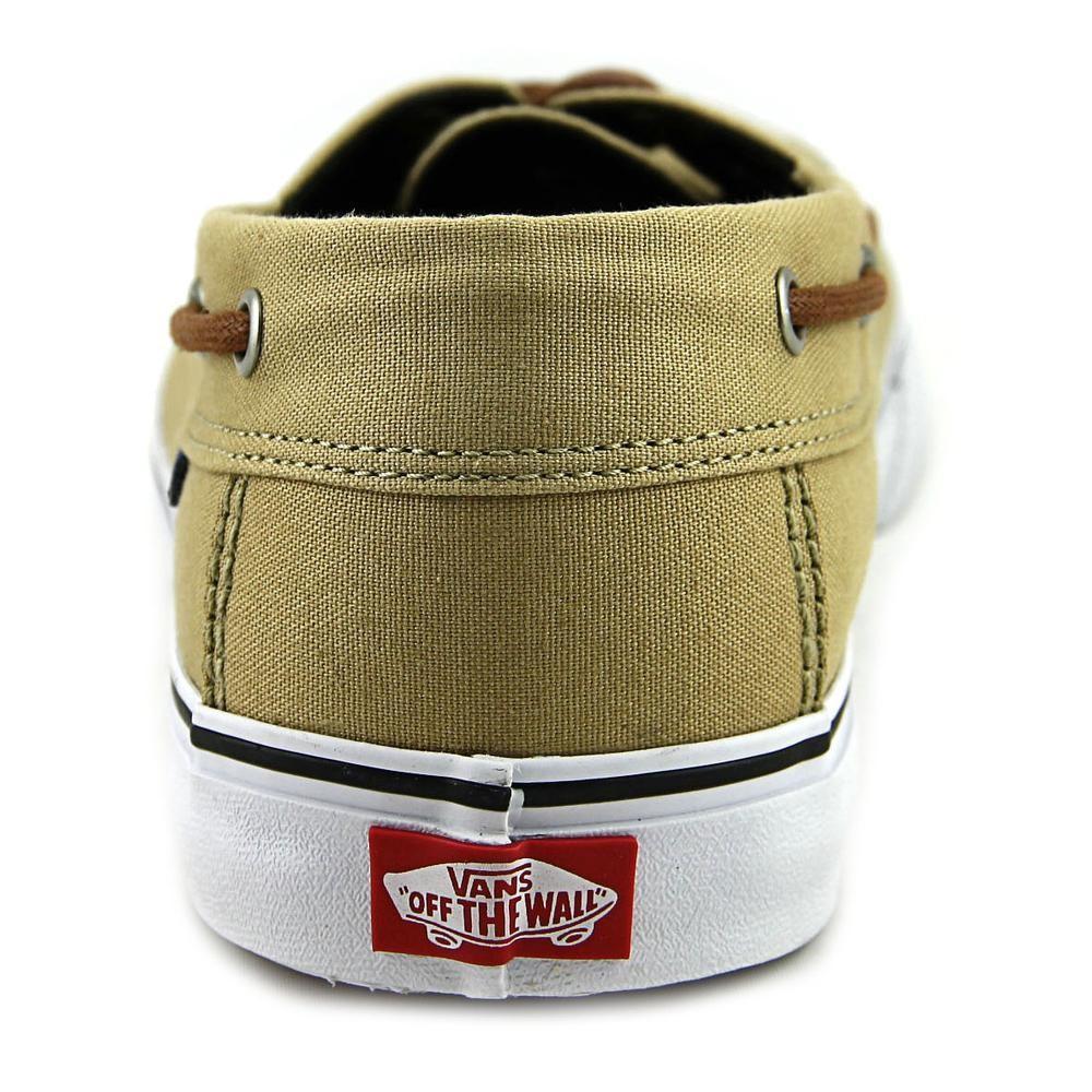 801fe070a6 Lyst - Vans Chauffeur Sf Men Us 13 Tan Boat Shoe in Natural for Men