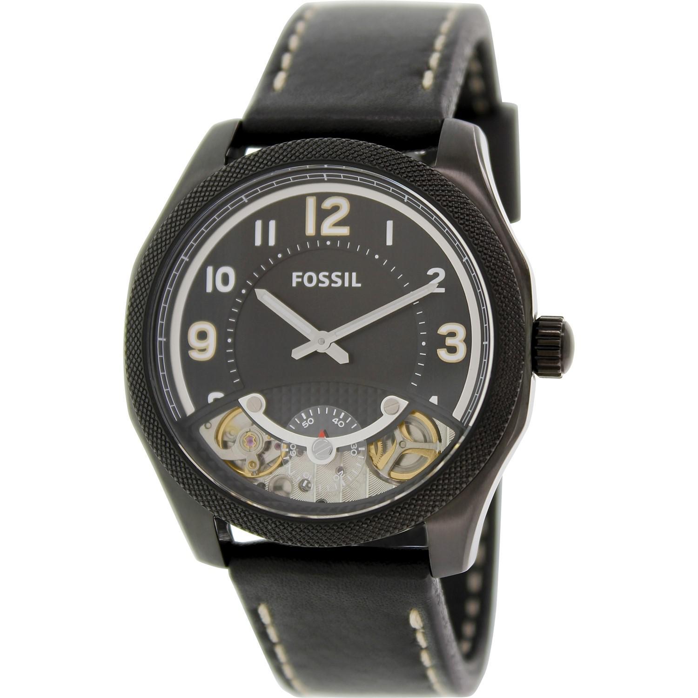 Lyst Fossil Skeletal Me1153 Black Dial Watch In For Men Fs4787 Gallery