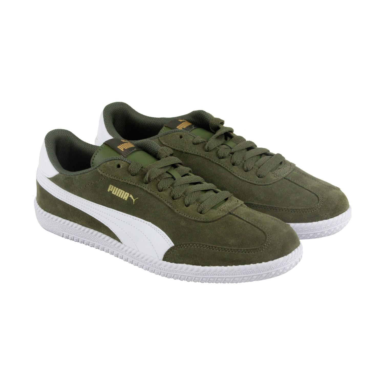 d4ecab0b16b Lyst - PUMA Astro Cup Olive Night White Mens Lace Up Sneakers in ...