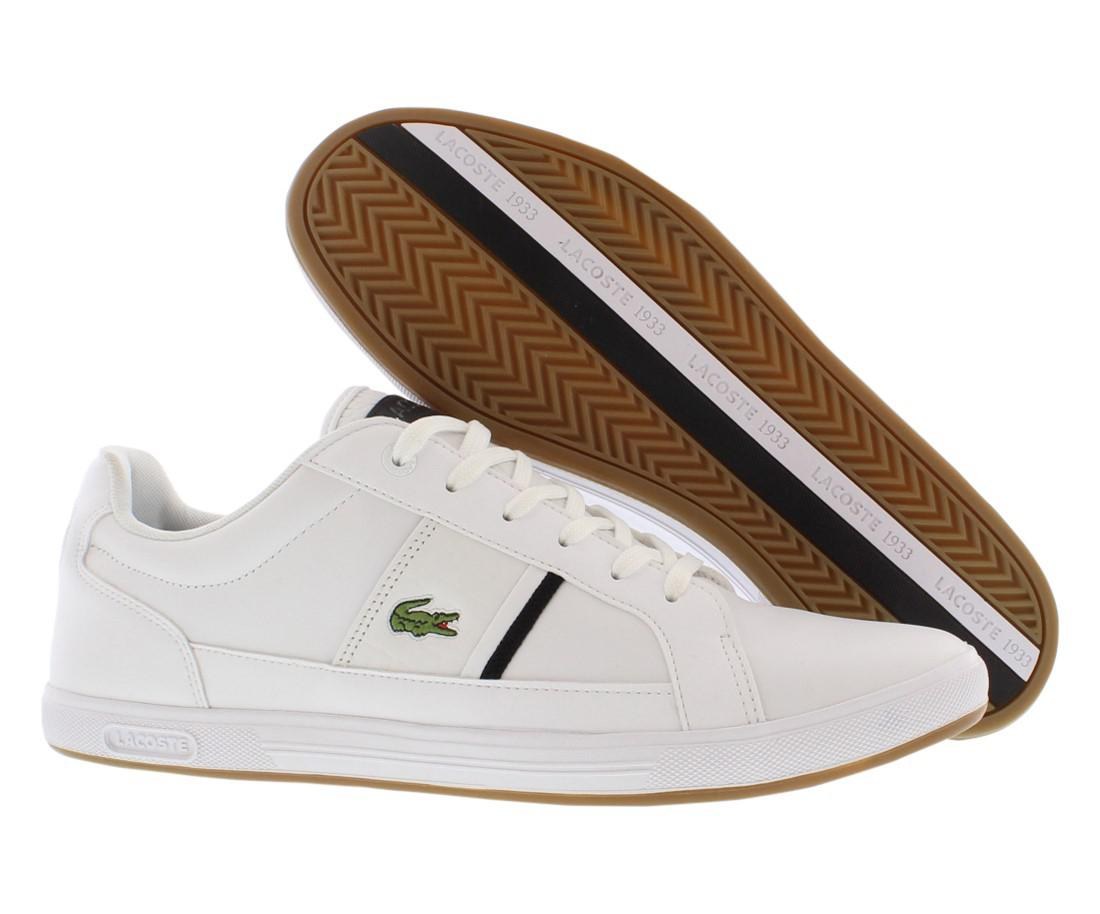 9ba209ad7db1 Lyst - Lacoste Europa Croc Casual Shoes Size 11.5 in White for Men