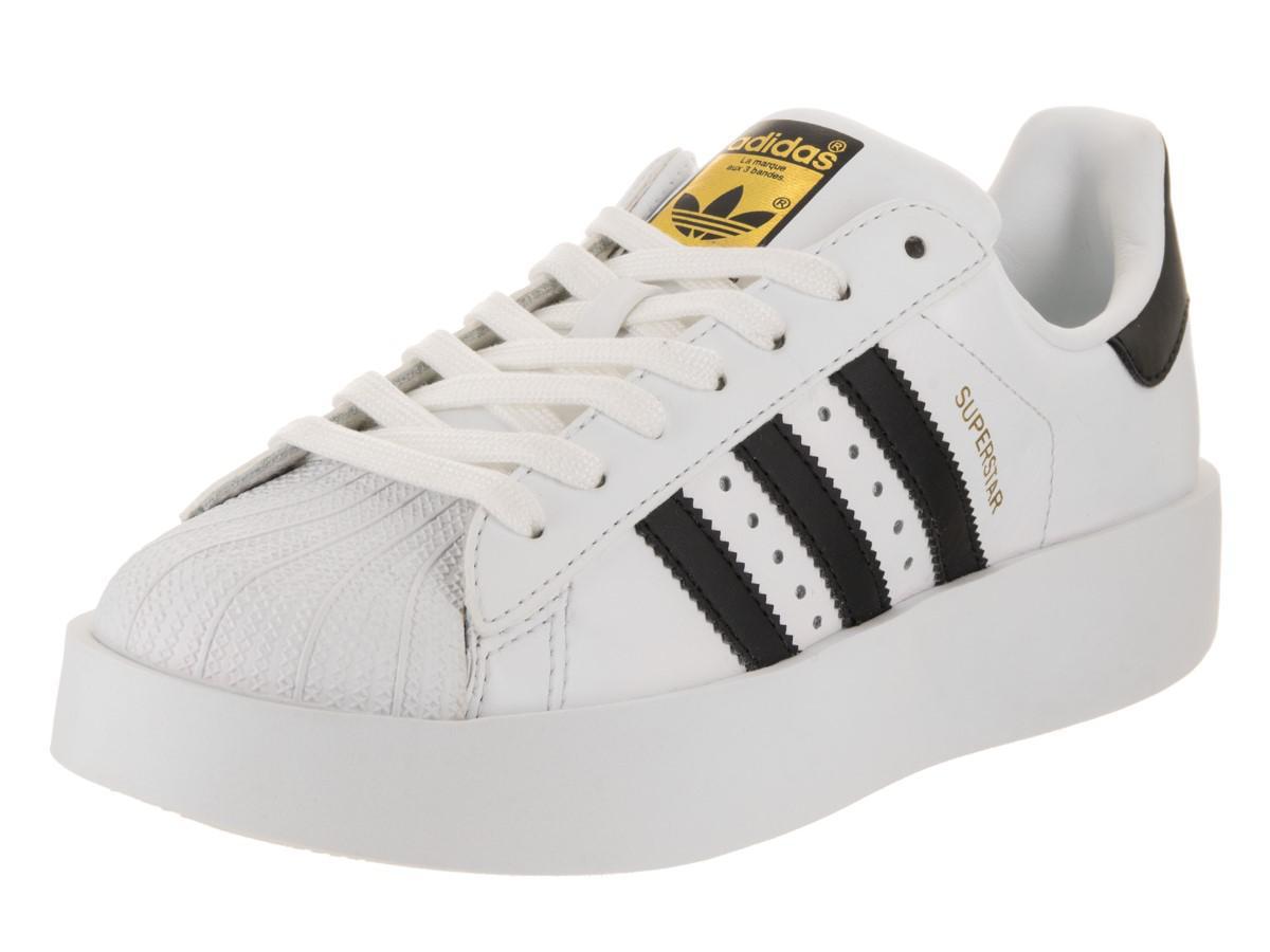 Lyst adidas originali superstar audace w originali casual scarpa 9 us