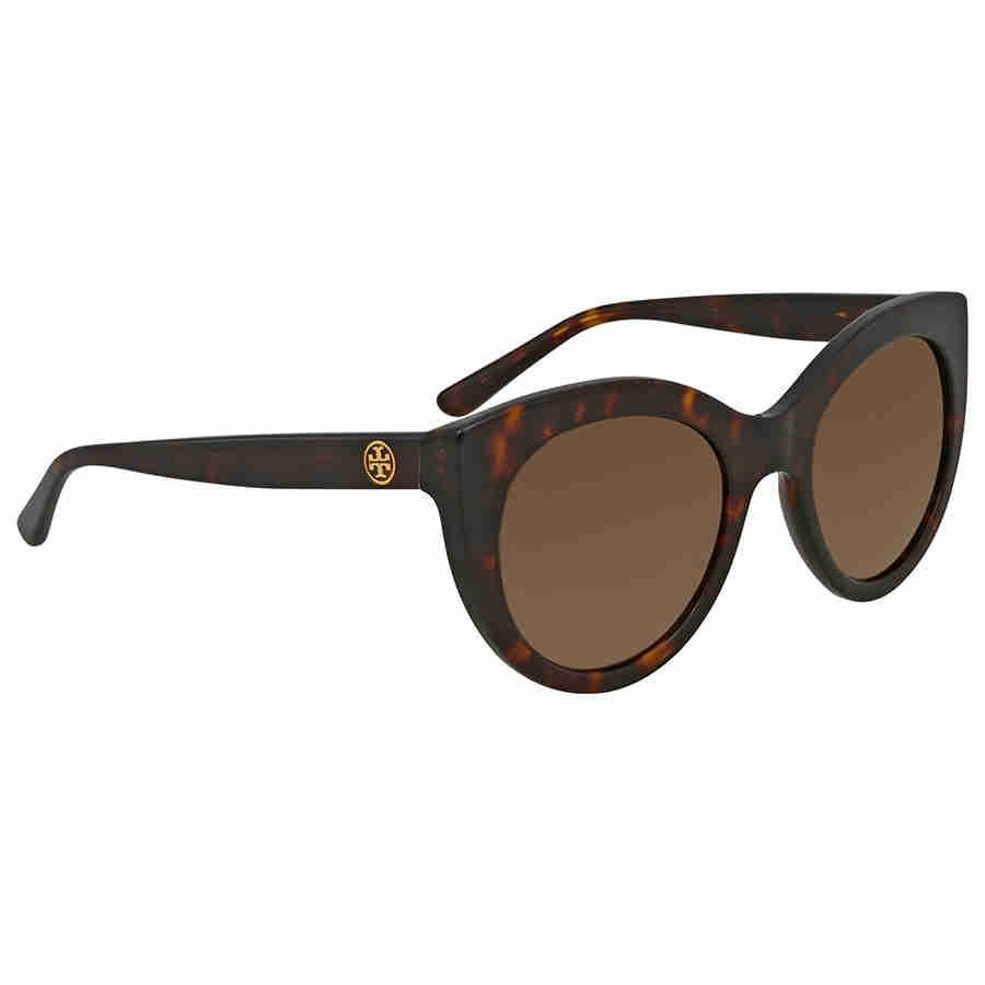 769fcbf4be7 Lyst - Tory Burch Ty7115 Sunglasses  brown Solid in Brown