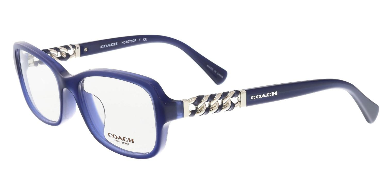 998a0d95db Lyst - COACH Hc6075qf 5358 Square Optical Frames in Blue