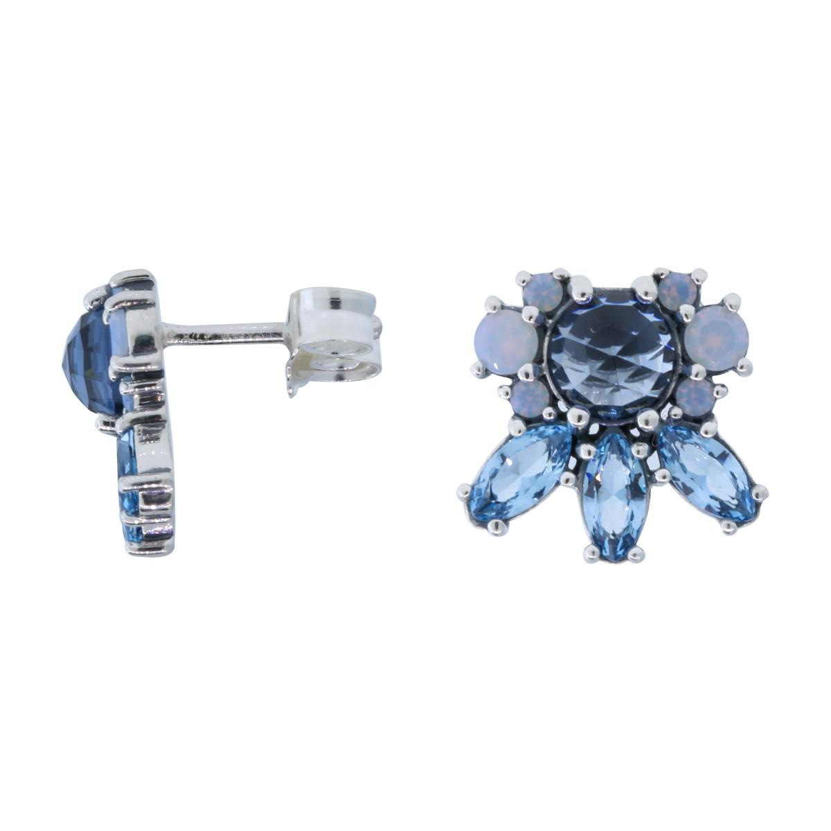 9dcee0242 PANDORA. Women's Authentic 290731nmbmx Patterns Of Frost Stud Earrings