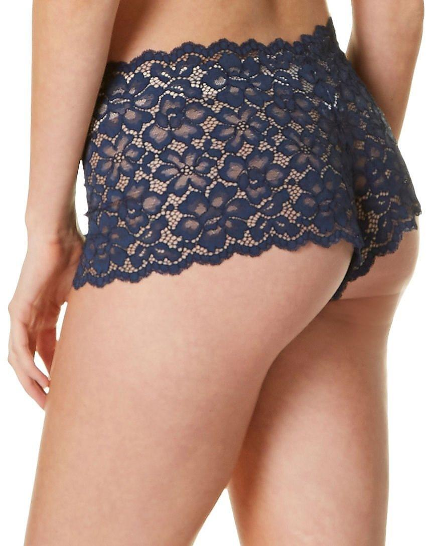 77639bc615ca Lyst - Maidenform Dmclbs Sexy Must Haves Lace Cheeky Boyshort in Blue -  Save 27%