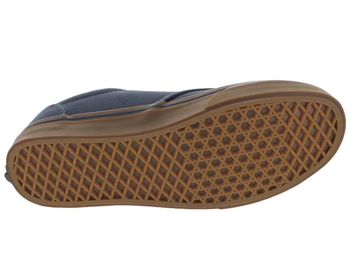 eff46751c075 Lyst - Vans Atwood (12 Oz Canvas) Navy gum Skate Shoe 6.5 Men Us in ...