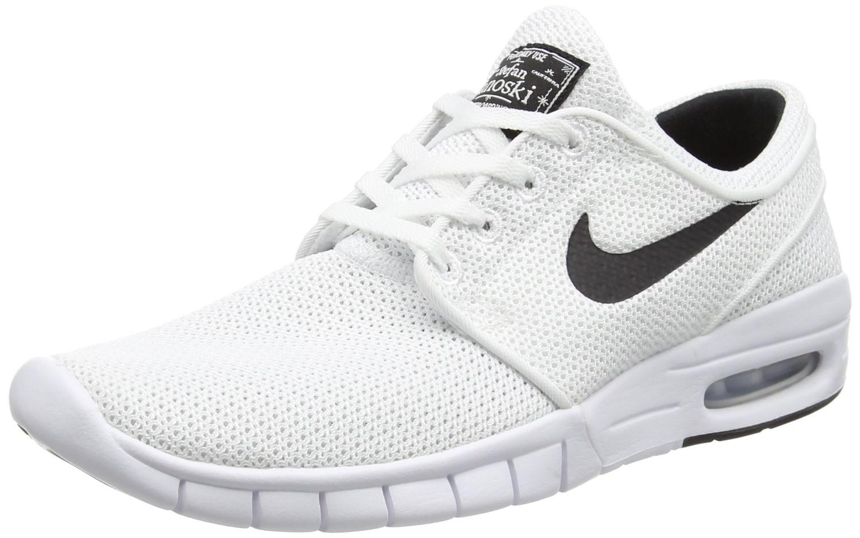 dcd4bb1b1484 Lyst - Nike Stefan Janoski Max White black Running Shoe 10.5 Men Us ...