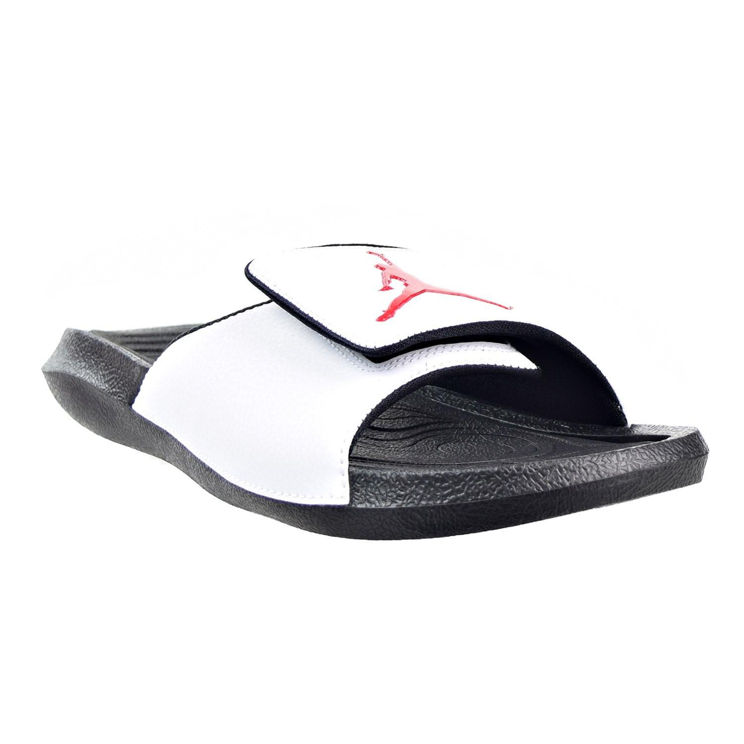 74be625ba Lyst - Nike Jordan Hydro 6 Sandals White black gym Red (13 D(m) Us)