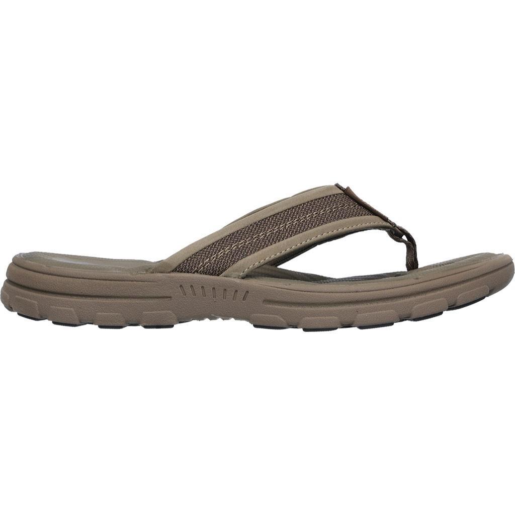 c826644ecee1f Lyst - Skechers Relaxed Fit Bravelen Seleno Thong Sandal Light Size ...