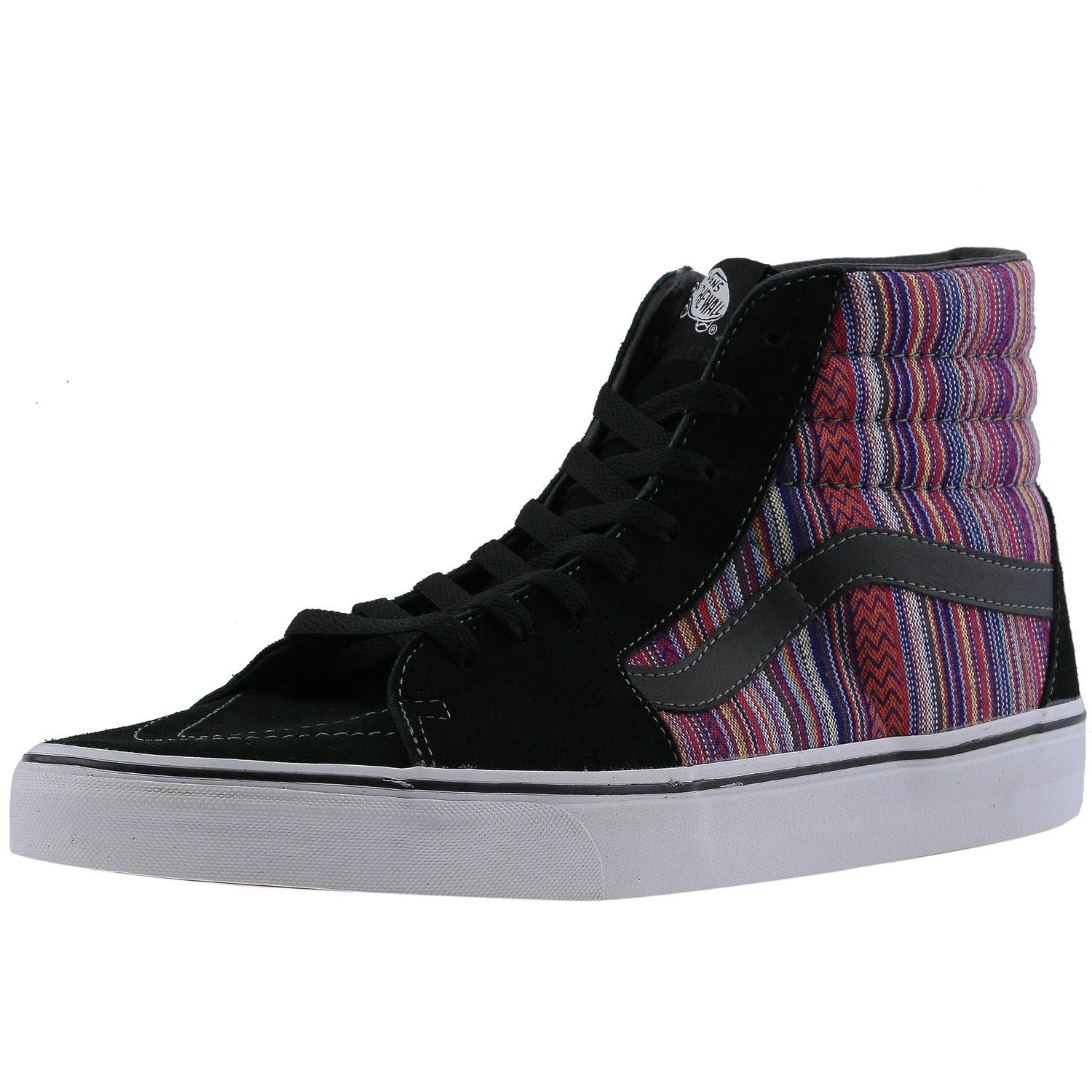 4210131a4b Lyst - Vans Sk8-hi Guate Weave Ankle-high Fabric Fashion Sneaker ...
