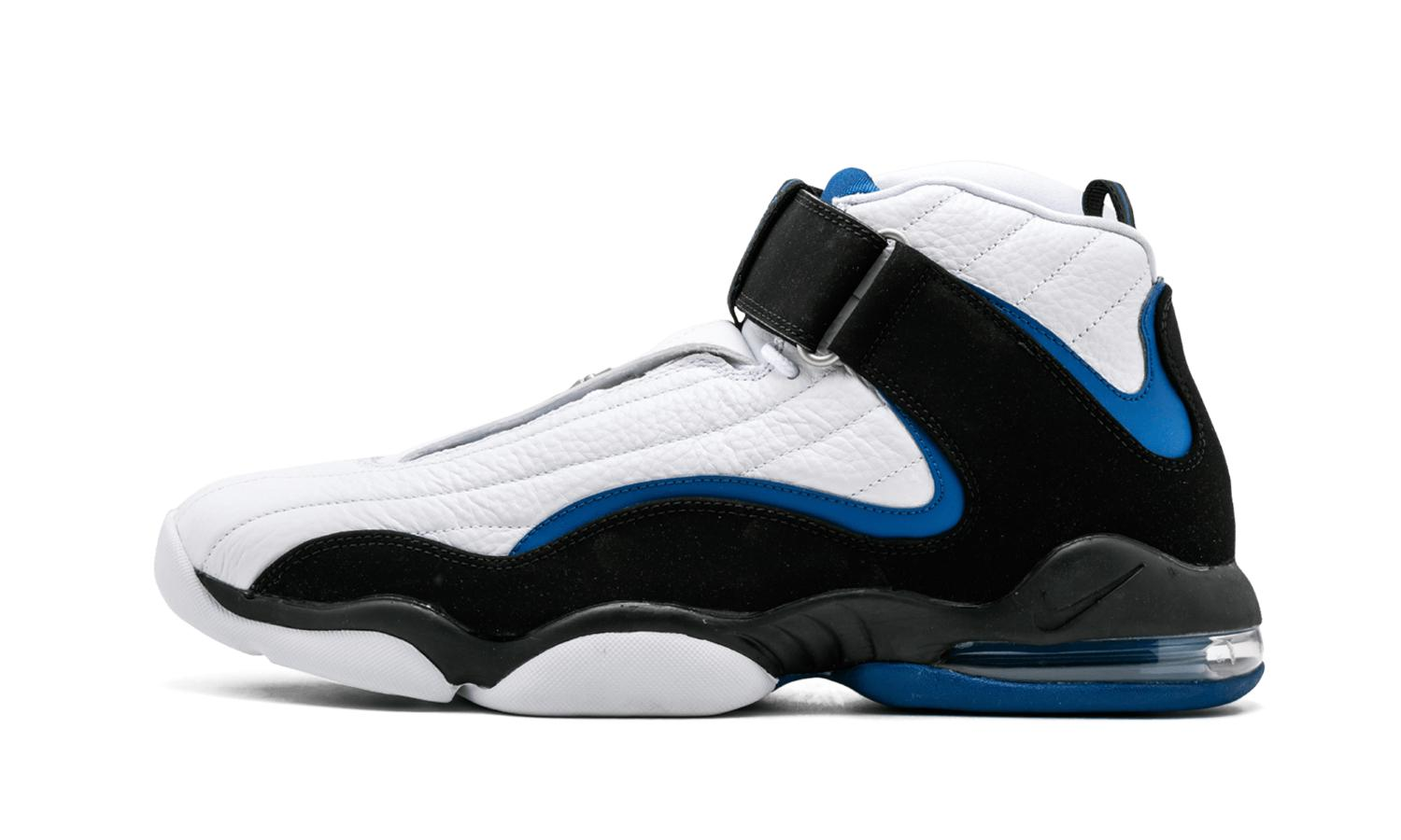 wholesale dealer 25b27 fcee5 Lyst - Nike Air Penny Iv 4 Orlando Magic White black-atlantic Blue ...