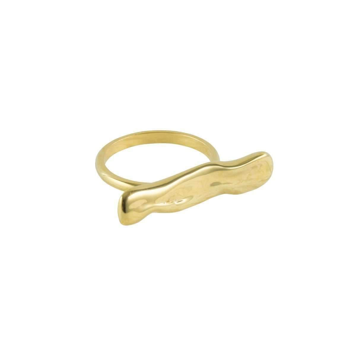 Deborah Blyth Jewellery Wave Ring - UK U - US 10 1/4 - EU 62 3/4 Yokh2ZSb