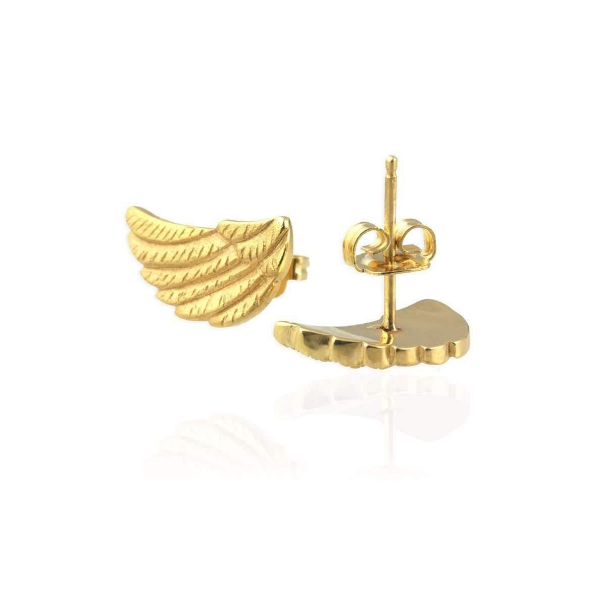 Jana Reinhardt Golden Wing Ear Studs RBmlQU