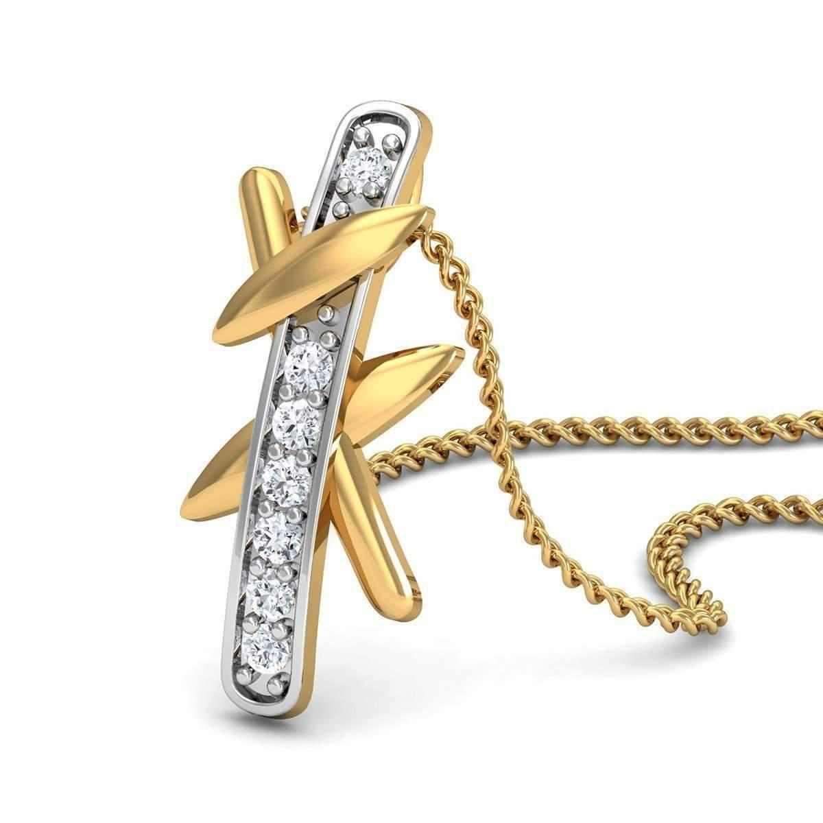 Diamoire Jewels Excellent Cut Diamonds and 18kt Yellow Gold in a Pave Setting SbWFloSVD6