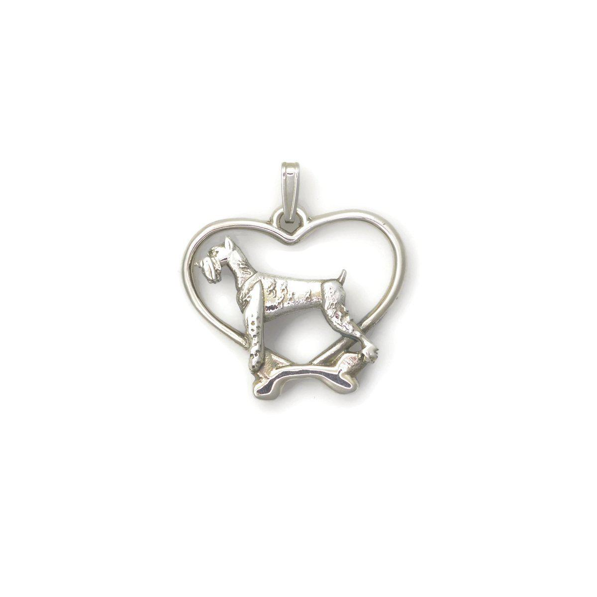 Donna Pizarro Designs Sterling Silver Cocker Spaniel Necklace rFi8fP