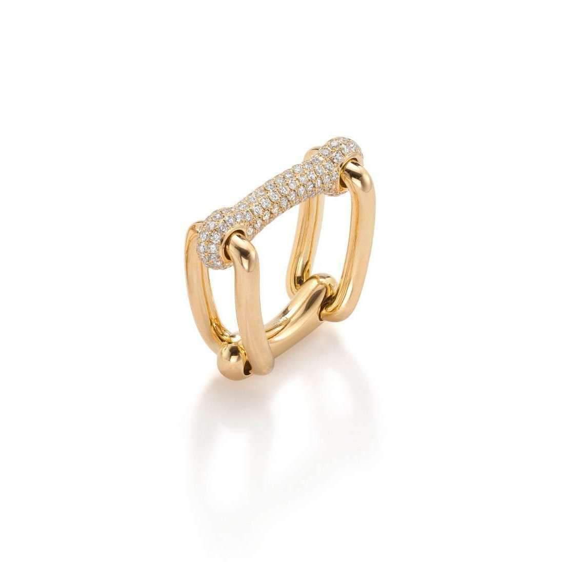 Shakti Ellenwood 18kt Fairtrade Mia Diamond Ring - UK P - US 7 1/2 - EU 56 1/2 XwRF3