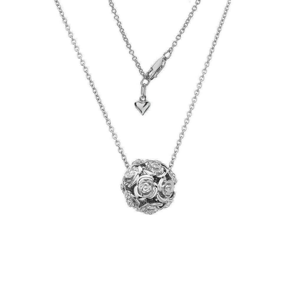 Lily & Lotty Ellice Silver & Diamond Long Necklace ztzR6
