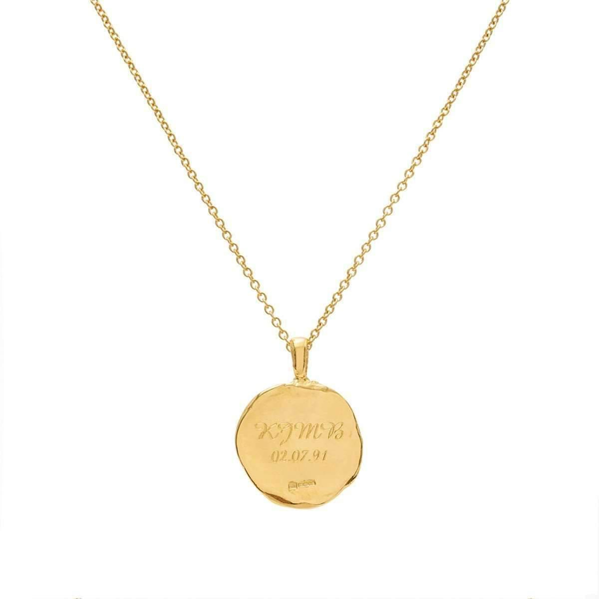 Deborah Blyth Jewellery Personalised Circle Pendant wqqpXwC