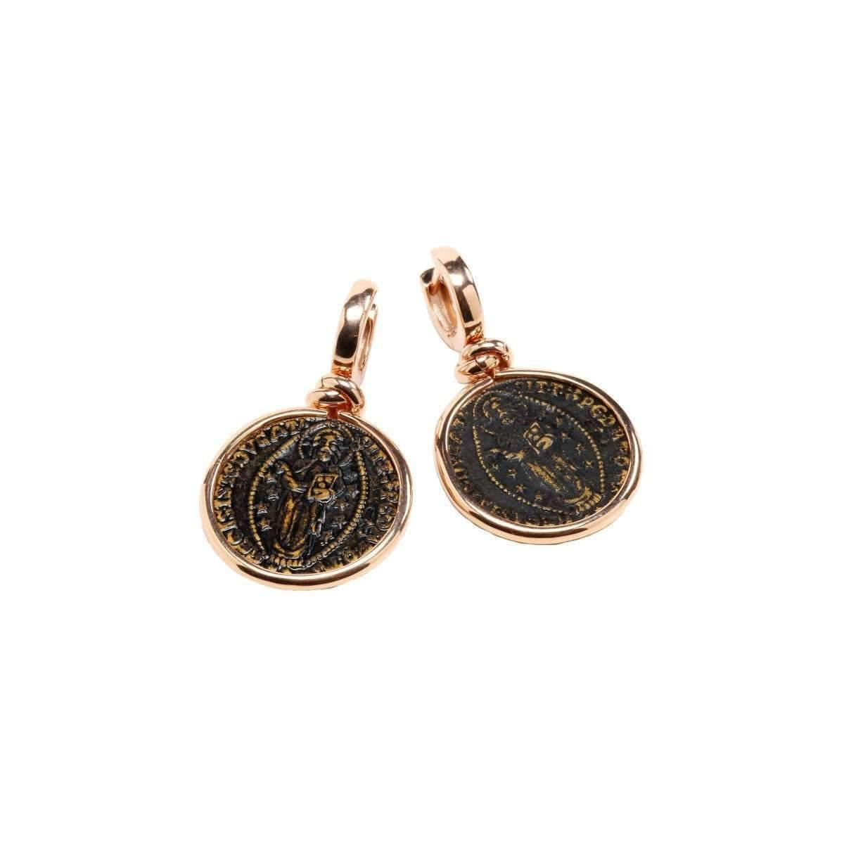 Rina Limor Sunrise Coin earrings (Small)