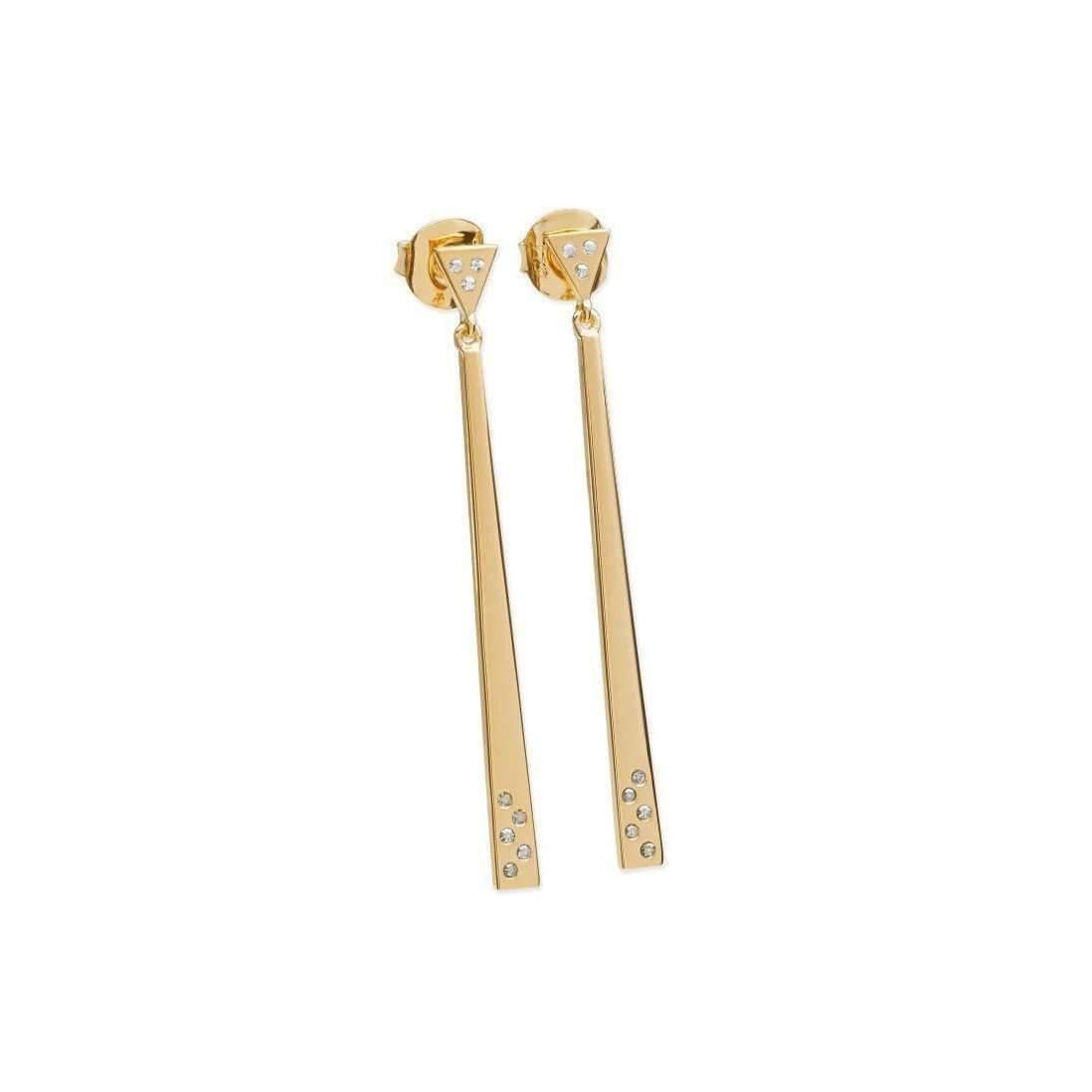 Lucy Quartermaine Art Deco Double Strand Earrings NgIHi