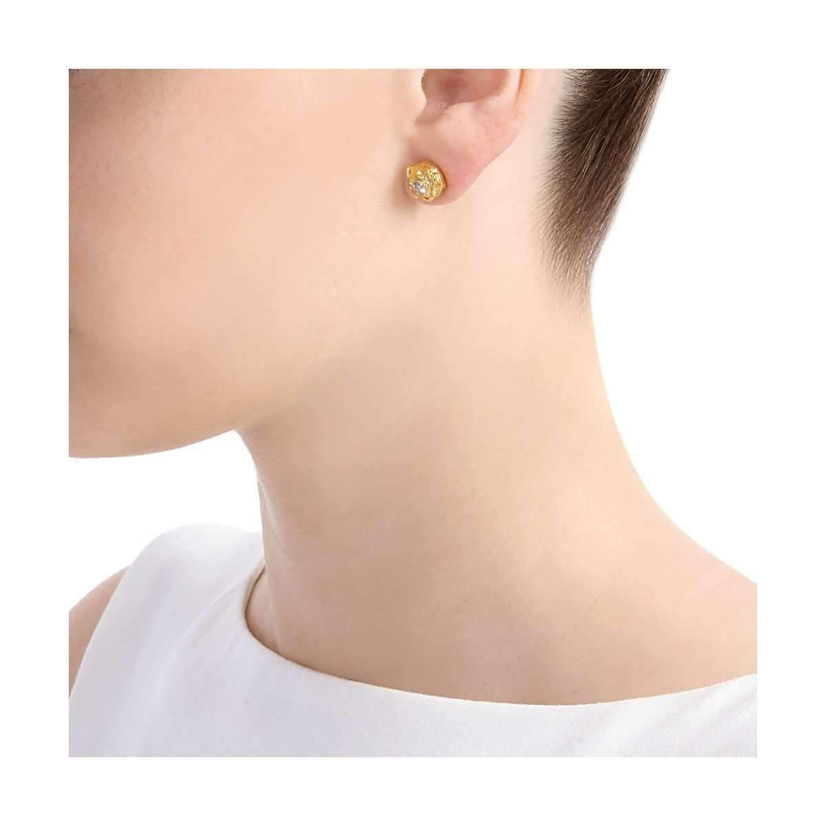 Deborah Blyth Jewellery Lula Stud Earrings With Tsavorites PezQckUw
