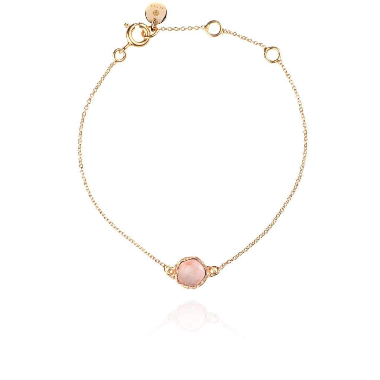 Zefyr Dosha Bracelet Rose Gold With Rose Quartz 0TVL9A