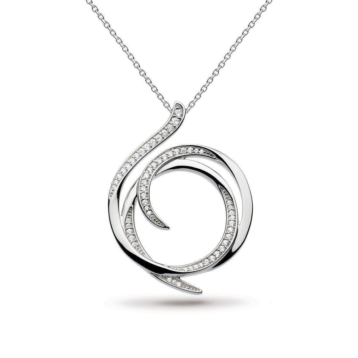 Kit Heath Twine Helix Pave Necklace ONHaC2Wc