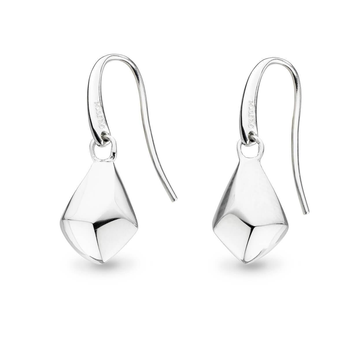 Kit Heath Coast Rock Angled Drop Earrings NXR7QVHUu