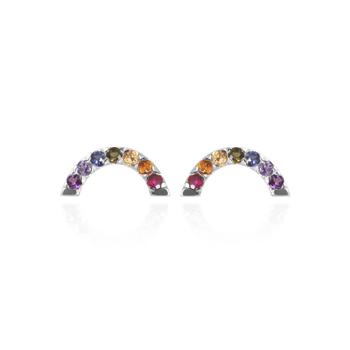 Jana Reinhardt Sterling Silver Rainbow Ear Jackets DdVhti85