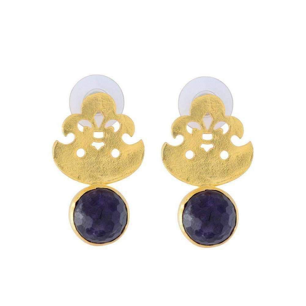 toosis Duo Color Flower Earrings 653VPq