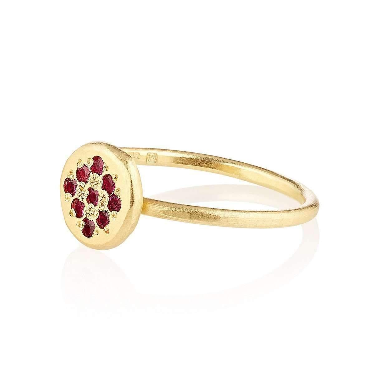 Shakti Ellenwood 18kt Chrissie Fairtrade Gold Engagement Ring - UK L - US 5 1/2 - EU 51 3/4 VI28T