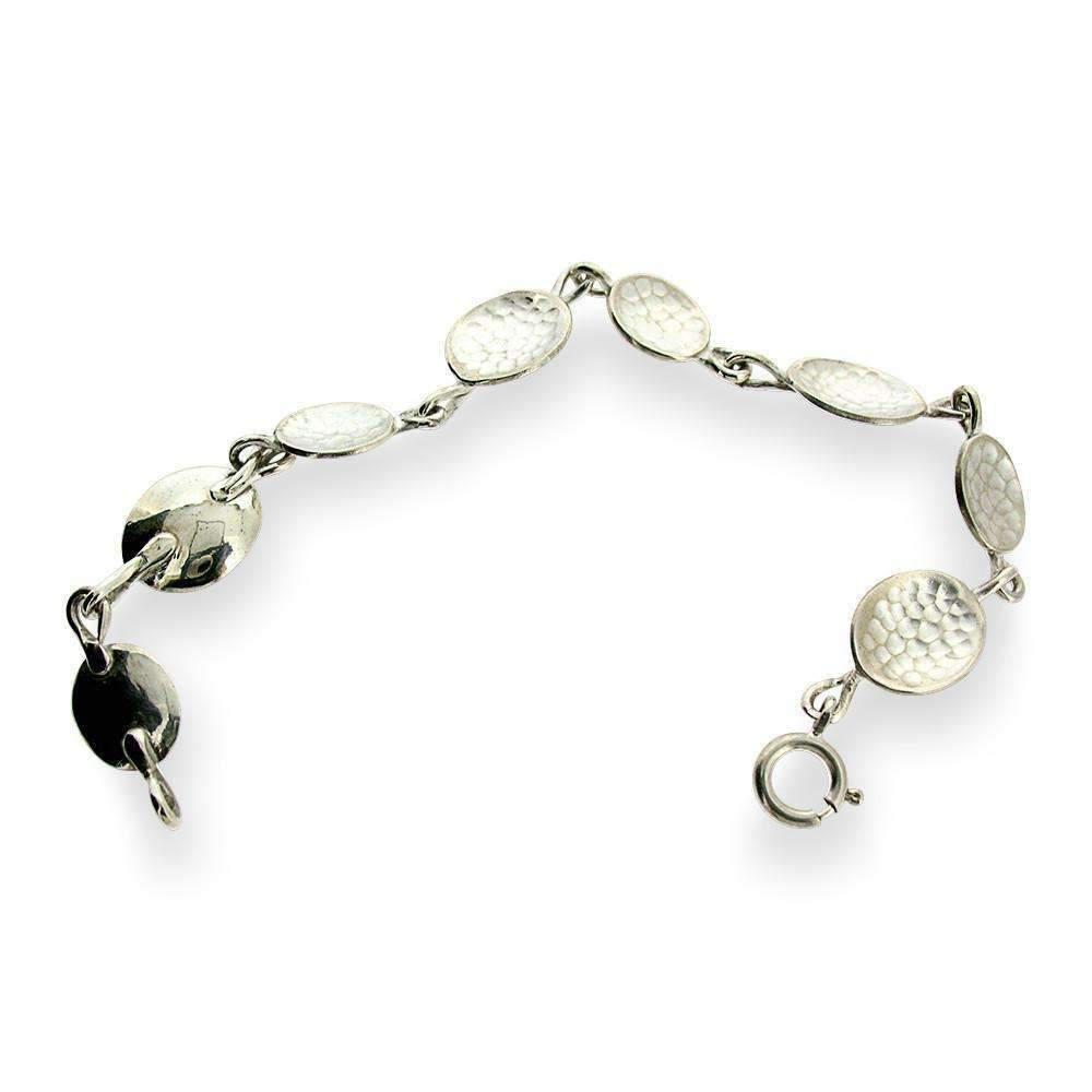 Will Bishop Sterling Silver Kinetic Bracelet B1fNkOAJ9