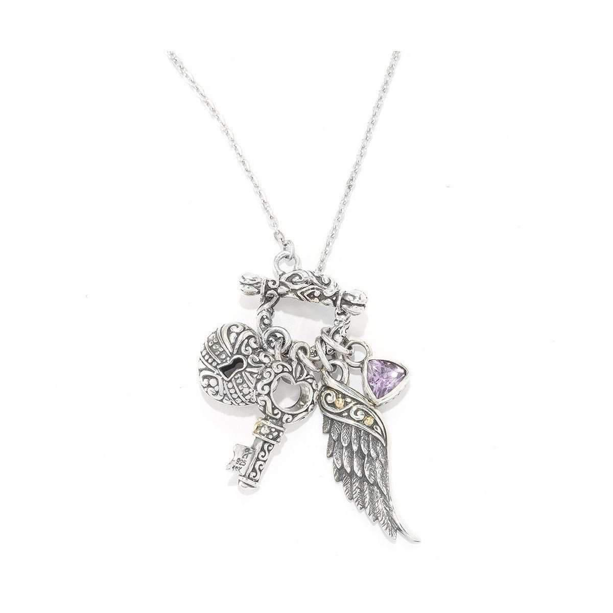 lockets sterling blanche model silver amethyst locket lily