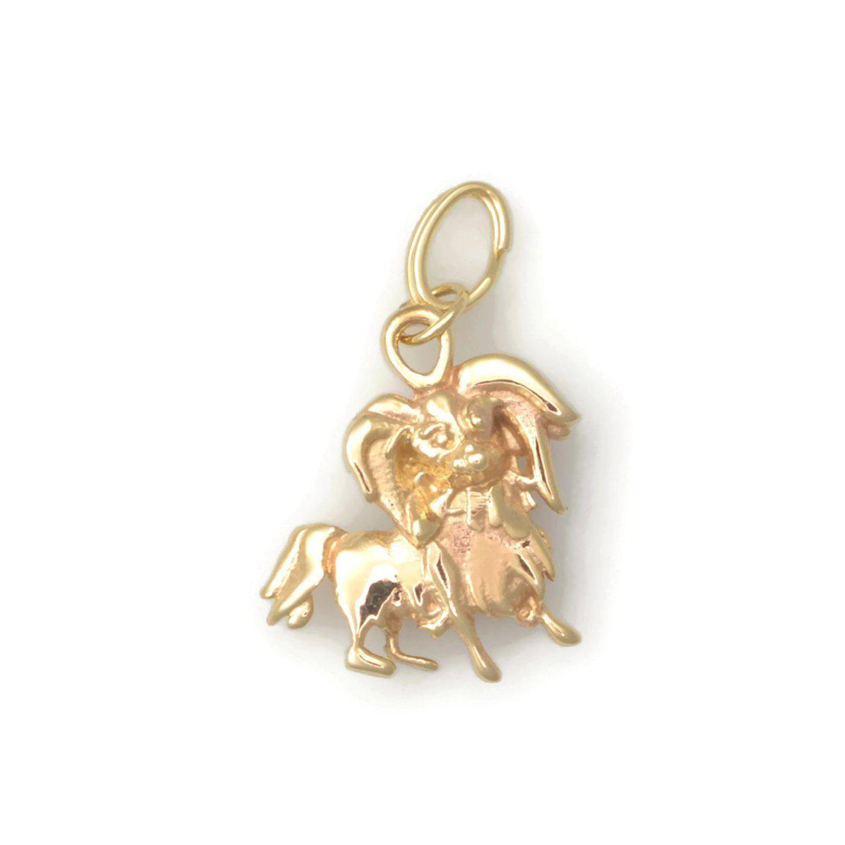 Donna Pizarro Designs 14kt Yellow Gold Dog Paw Print Charm z4r7vGENua