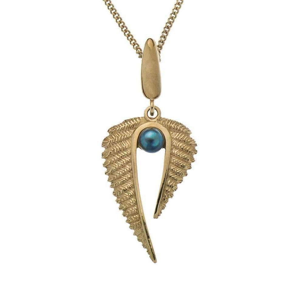 Patience Jewellery Fern Necklace VM z4LCYw1c