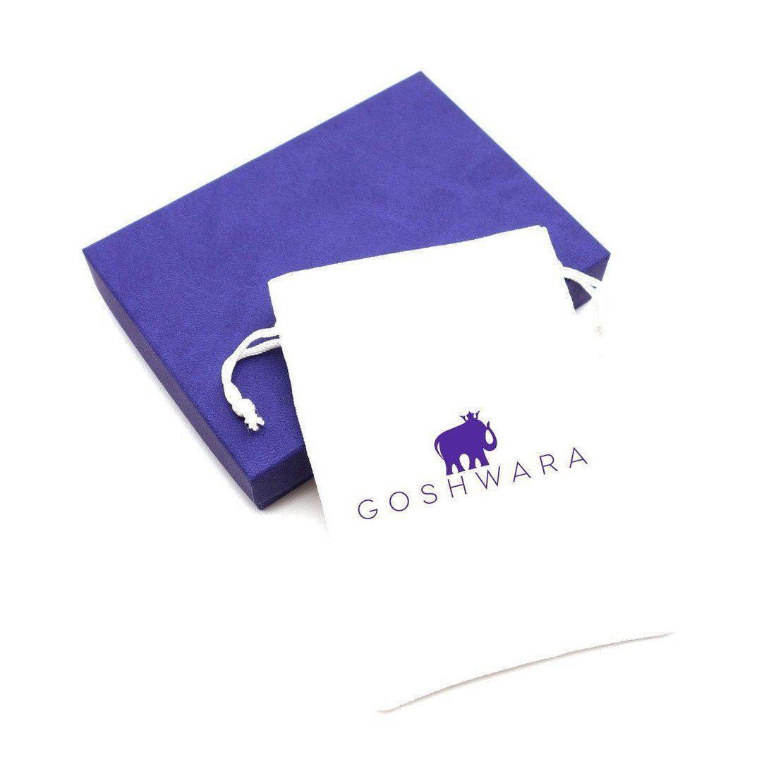 Goshwara Gossip Peridot Oval Stackable Rings With Diamonds in Metallic