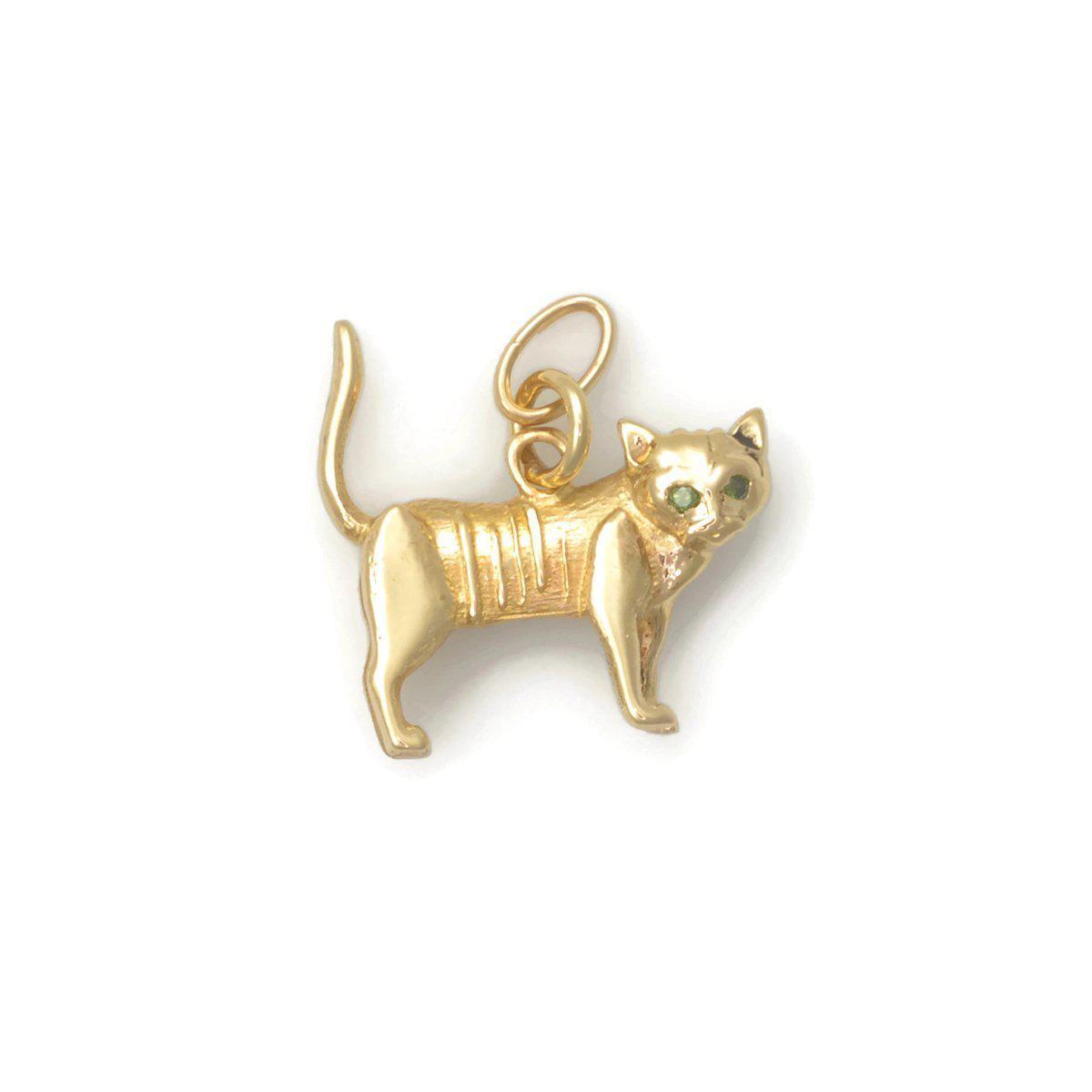 Donna Pizarro Designs 14kt Yellow Gold Shihtzu Charm W1cM9