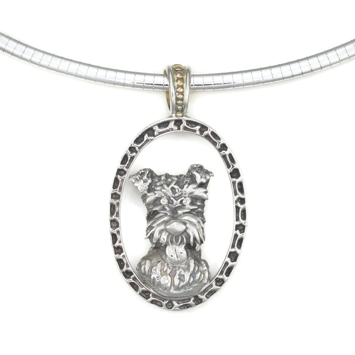 Lyst - Donna Pizarro Designs Sterling Silver Wire Haired Fox Terrier ...