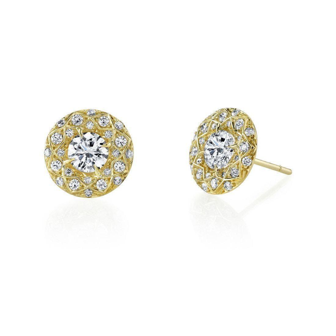 Harry Kotlar Luminesce Sapphire Stud Earrings tJw2U0Y