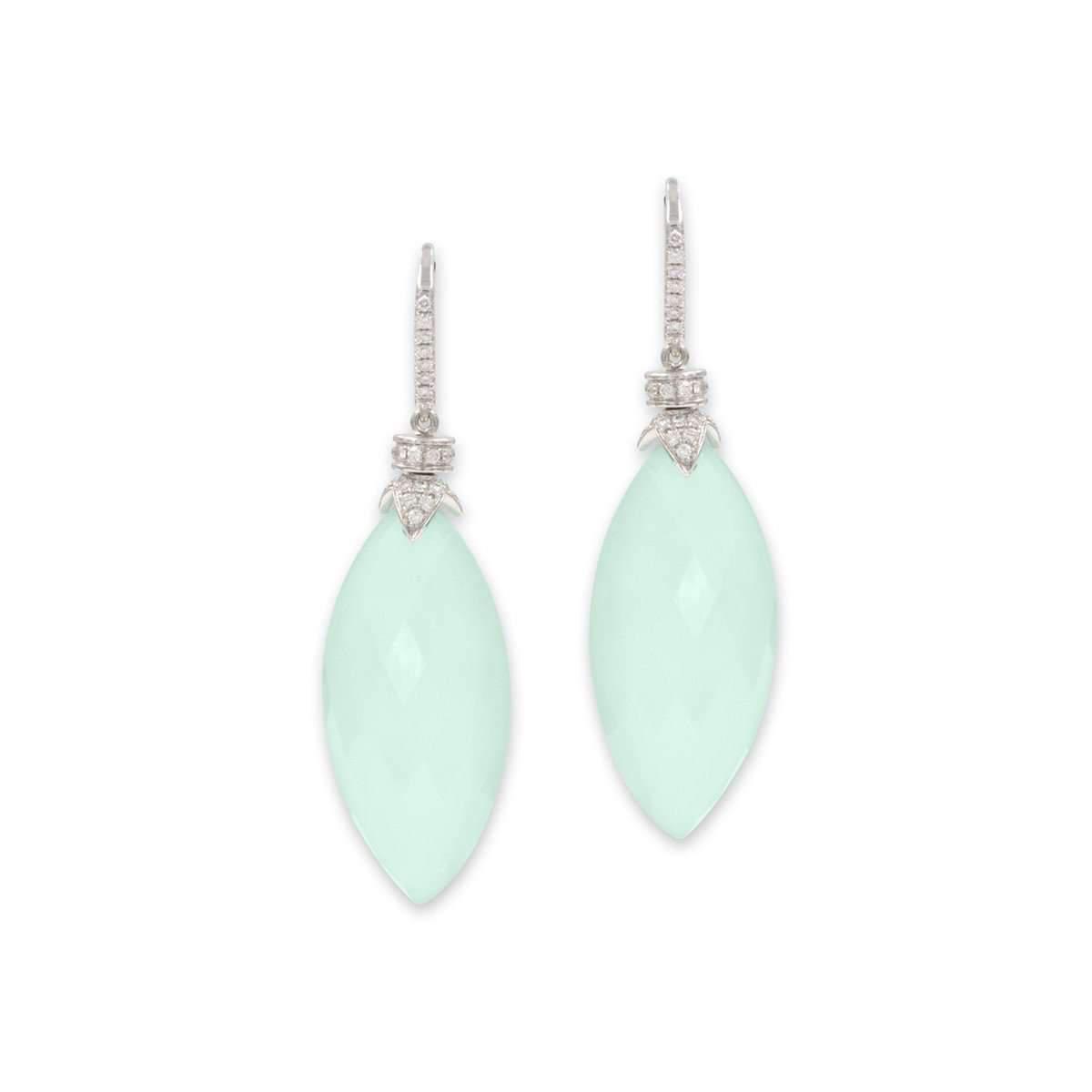 Rina Limor Red Druzy and Orange Sapphire Gemstone Earrings oOAZG00eb